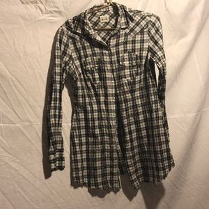 Converse flannel dress